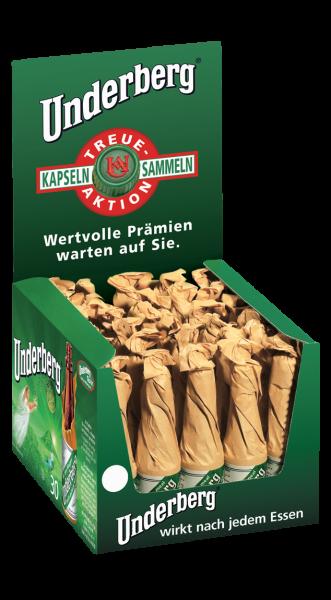 Underberg Verkaufskarton 44% 30 Fl. a 0,02l