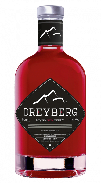 Dreyberg Red Berry Likör 18% 0,7l