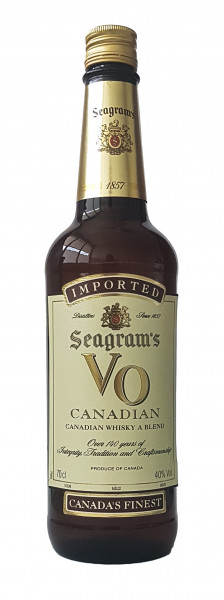 Seagram's VO Canadian Whisky 40% 0,7l!
