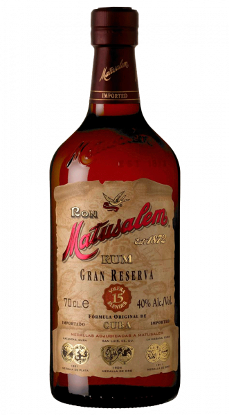 Matusalem Gran Reserva Rum 15 Jahre 40% 0,7l