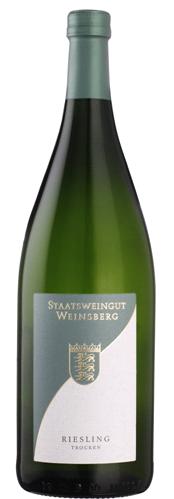 2016 Staatsweingut Weinsberg Riesling Trocken 1,00 l!