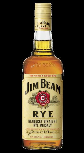 Jim Beam RYE Kentucky Straight Bourbon Whiskey 0,7l!