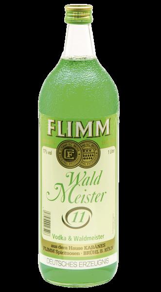 Flimm Waldmeister 11 Likör 17% 1,0l
