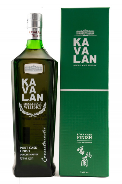 Kavalan Concertmaster Port Cask Taiwan Single Malt Whisky 0,7l