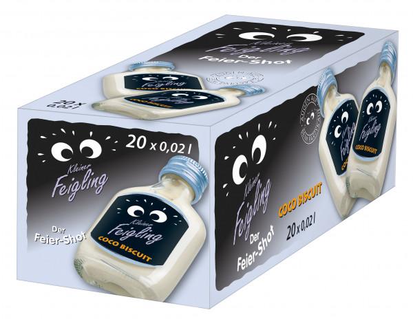 Kleiner Feigling Coco Biscuit 20 Fl. a 0,02l