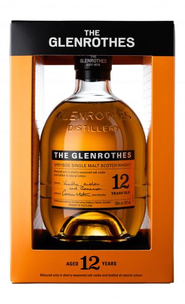 Glenrothes 12 years Speyside Single Malt Whisky 40% 0,7l