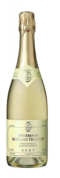 Bührmann Riesling Trocken Traditionelle Flaschengärung 12% 0,75l