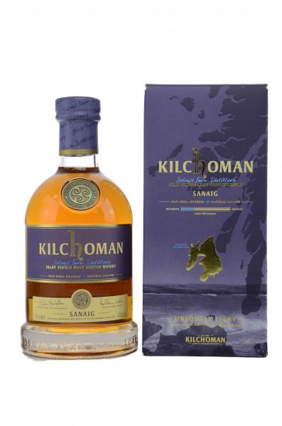 Kilchoman Sanaig Islay Single Malt Whisky 46% 0,7l