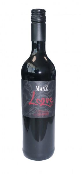 """2018 Manz """"Love"""" Cuvée Rot Edition Gourmetrebellen feinherb"""