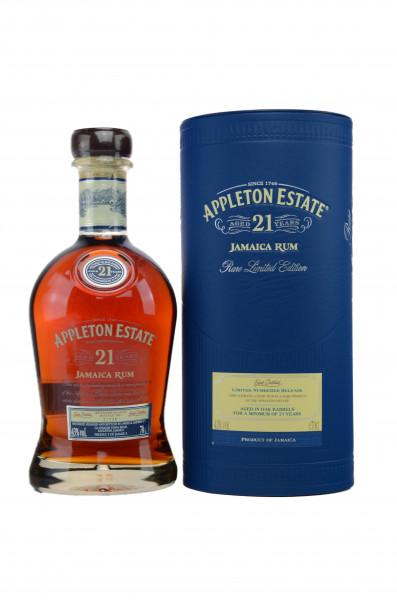 Appleton Estate Rum 21 years old 43% 0,7l!