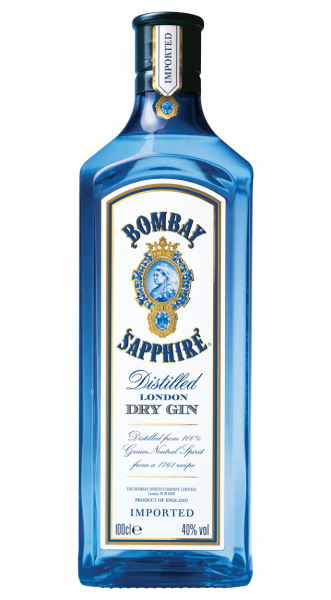 Bombay Sapphire London Dry Gin 40% 1,0l