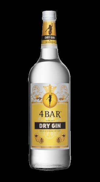 4 Bar Gin 37,5% 1,0l