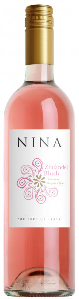 2018 Nina Zinfandel Blush Rosato Puglia I.G.T.