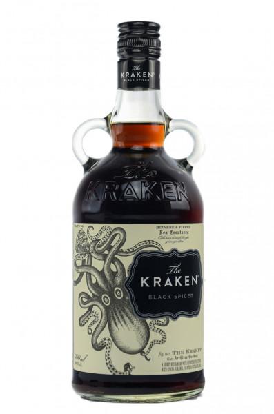 The Kraken Black Spiced Rum 40% 0,7l