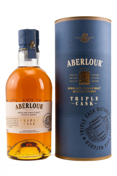 Aberlour Triple Cask Highland Malt Whisky 40% 0,7l