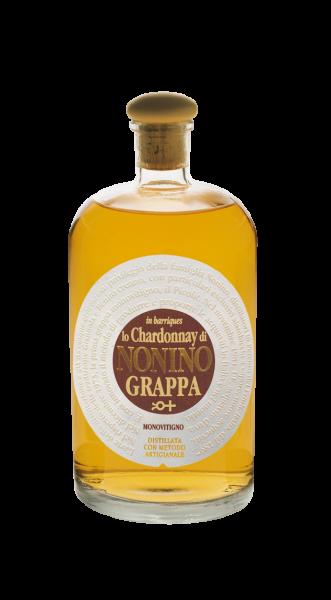 """Nonino Grappa Monovitigno """"Lo Chardonnay"""" Barrique 41 % 0,70 l"""