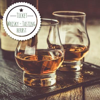 TICKET Sa Whiskytasting am 10.10.2020 ohne Seminar