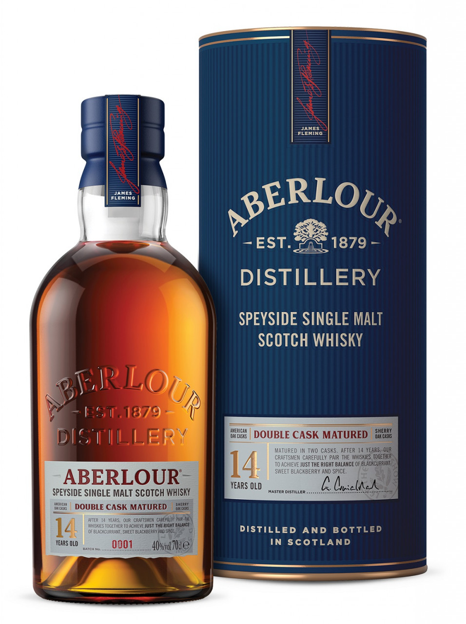 Aberlour 14 years Double Cask Matured Highland Malt Whisky 40% 0,7l