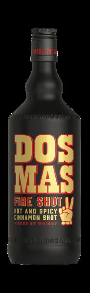 Dos Mas Fire Shot Zimtlikör mit Whisky und Chili 33% 0,7l