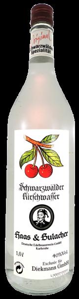 Haas & Bulacher Kirschwasser 40% 1,0l