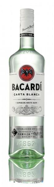 Bacardi Carta Blanca Rum 37,5% 0,7l