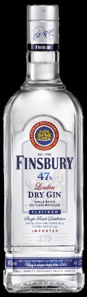 Finsbury Gin Platinium 47% 0,7l