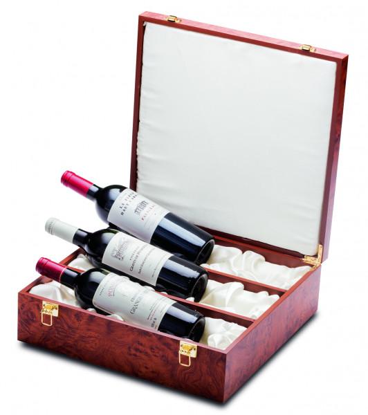 Geschenkpackung Bordeaux Grand Cru Schatulle
