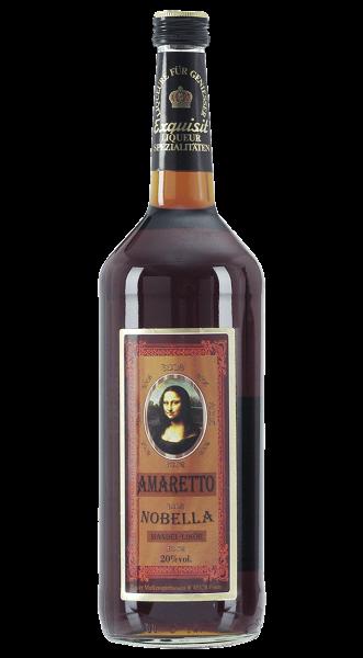 HAUSMARKE Amaretto Nobella 20% 1,0l