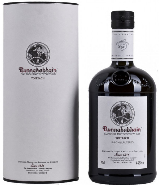 Bunnahabhain Toiteach Single Islay Malt Whisky 46% 0,7l!