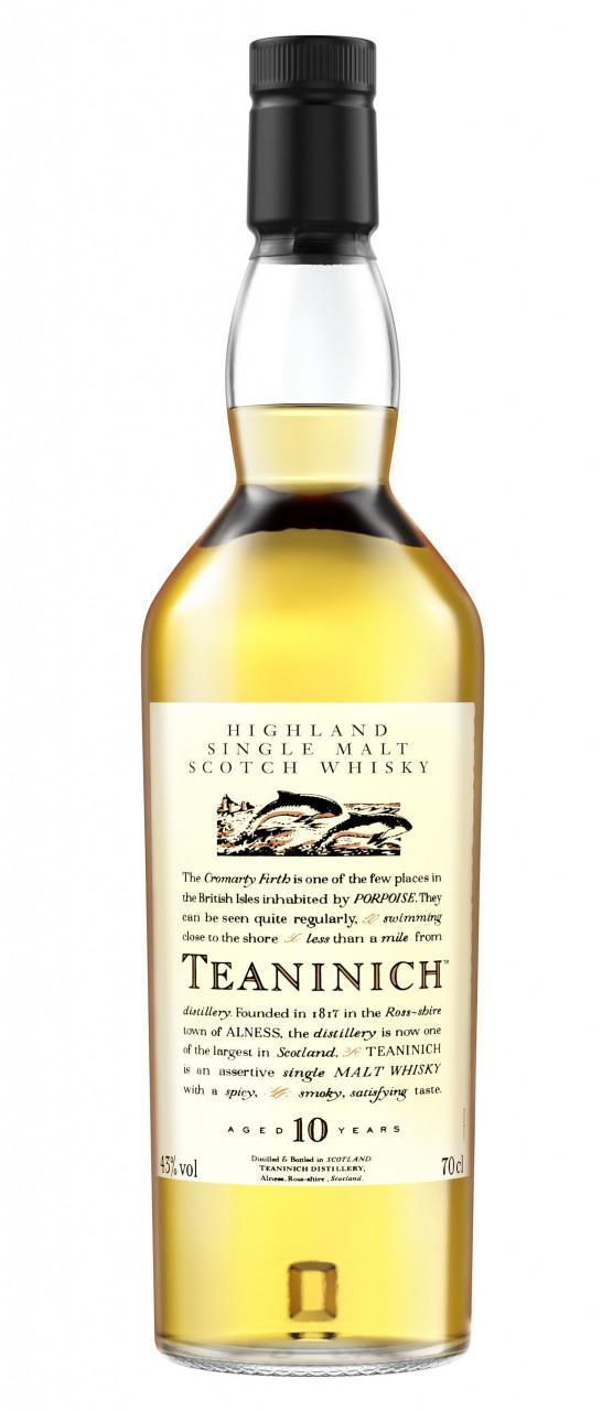 Teaninich 10 years Flora & Fauna Collection Single Speyside Malt 43% 0,70l