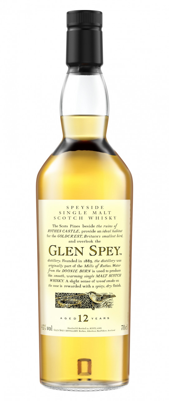 Glen Spey 12 years Flora & Fauna Collection Single Speyside Malt 43% 0,70l