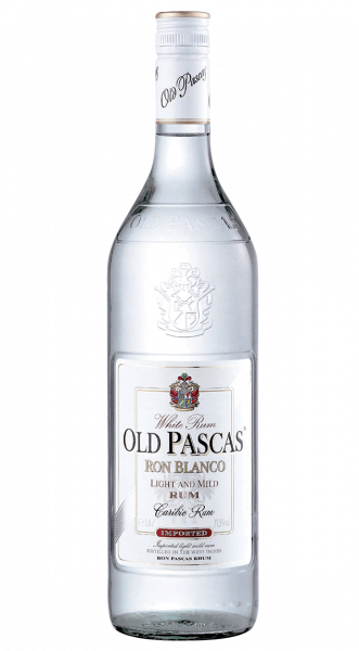 Old Pascas White Rum 37,5% 1,0l