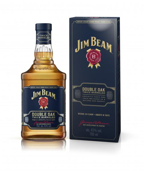 Jim Beam Double Oak Kentucky Straight Bourbon Whiskey 0,7l!