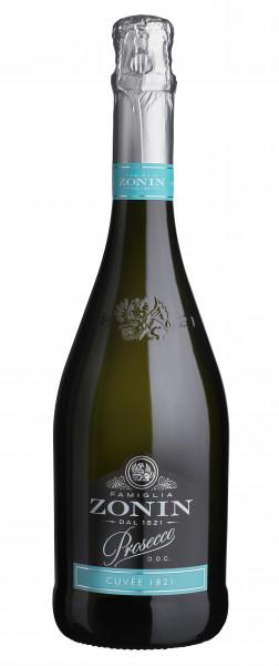 Zonin Prosecco Cuvée 1821 Spumante Brut D.O.C. 0,75l