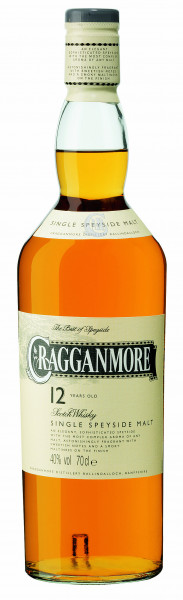 Cragganmore 12 years Speyside Malt Whisky 40% 0,2l