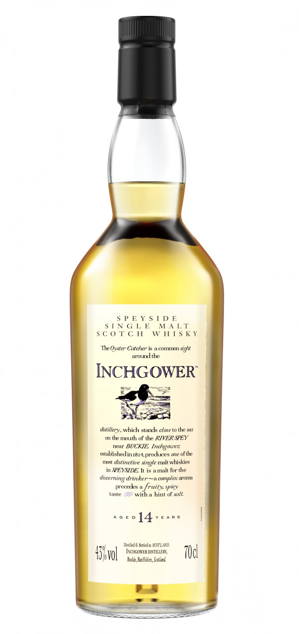 Inchgower 14 years Flora & Fauna Collection Single Speyside Malt 43% 0,70l