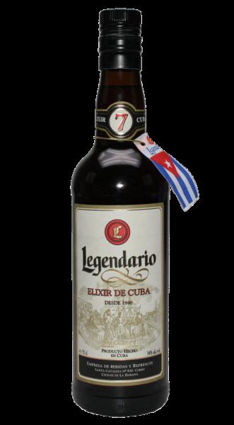 Legendario Rum 7 Anos Elixir de Cuba 34% 0,7l