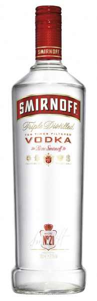 Smirnoff Vodka Red Label 37,5% 1,0l