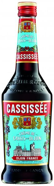 Cassissee Creme de Cassis de Dijon Guyot 0,7l