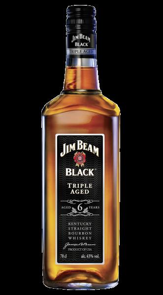 Jim Beam Black Kentucky Straight Bourbon Whiskey 0,7l
