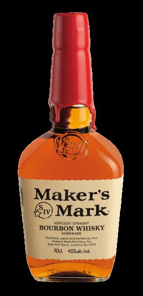 Maker's Mark Kentucky Straight Bourbon Whiskey 0,7l