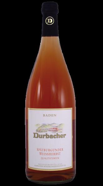 2019 Durbacher Spätburgunder Weißherbst 1,00 l