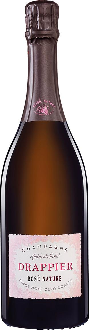 Drappier Rosé Brut Nature Zero Dosage 0,75l