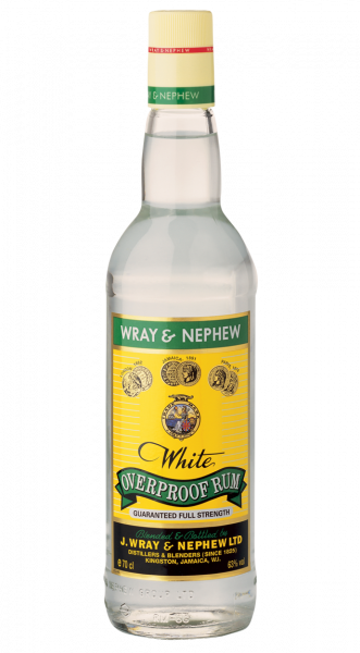 Wray & Nephew's Overproof White Rum 63% 0,7l