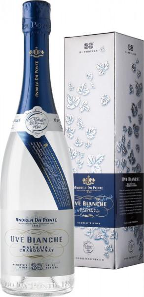 Andrea da Ponte Uve Bianche Acquavite d`Uva Malvasia & Chardonnay 38% 0,7l