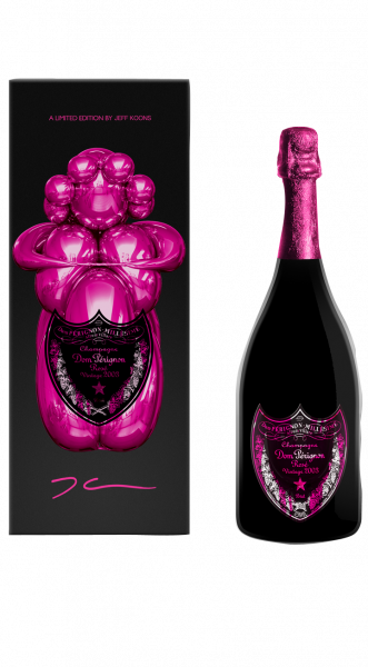 Moet Chandon Dom Pérignon Rosé Vintage 2003 Limited Edition by Jeff Koons 12,5% 0,75l !