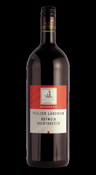 Wachtenburg Landwein Rot Halbtrocken 1,00 l