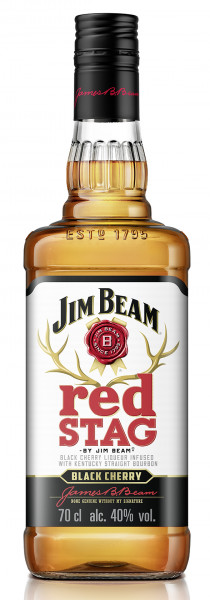 *Red Stag by Jim Beam Bourbon Whiskey 0,7l!
