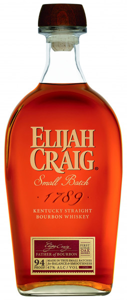 Elijah Craig Small Batch Kentucky Straight Bourbon Whiskey 94 Proof 0,7l