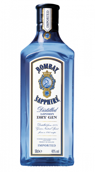 Bombay Sapphire London Dry Gin 40% 0,5l